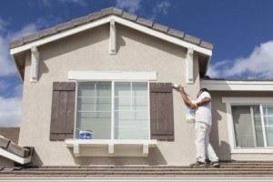 Die Hausfassade selber streichen