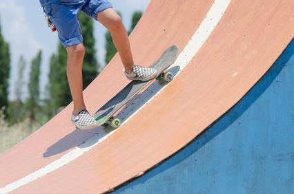 Eine Skaterampe kann man auch selber bauen, © fabianainsolda, fotolia.com
