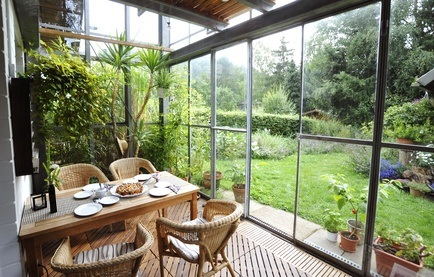 Wintergarten selber bauen - Hausliebe