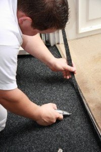 Teppich selbst verlegen