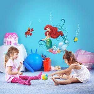 Kinderzimmergestaltung mit Wandtattoos