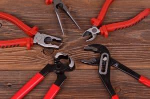 Zange, Werkzeug
