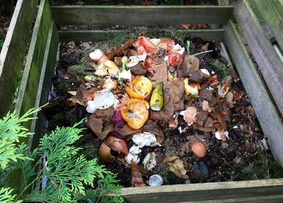 laub kompostieren küchenabfälle