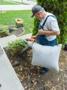 laub kompostieren laubsauger