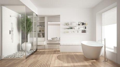 glasdusche badezimmer