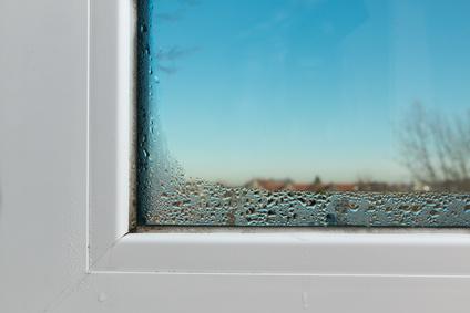 Beschlagenes Fenster
