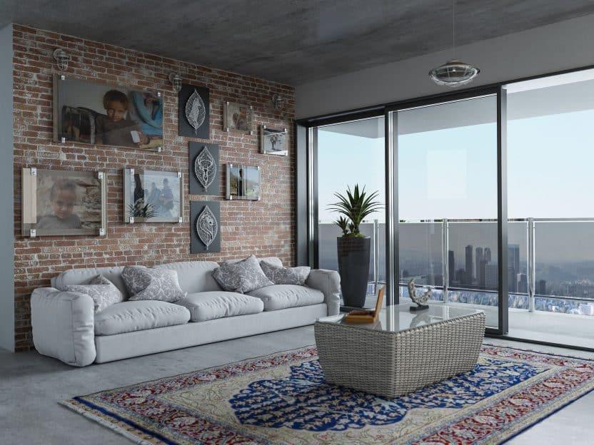 Sofa als Dreisitzer